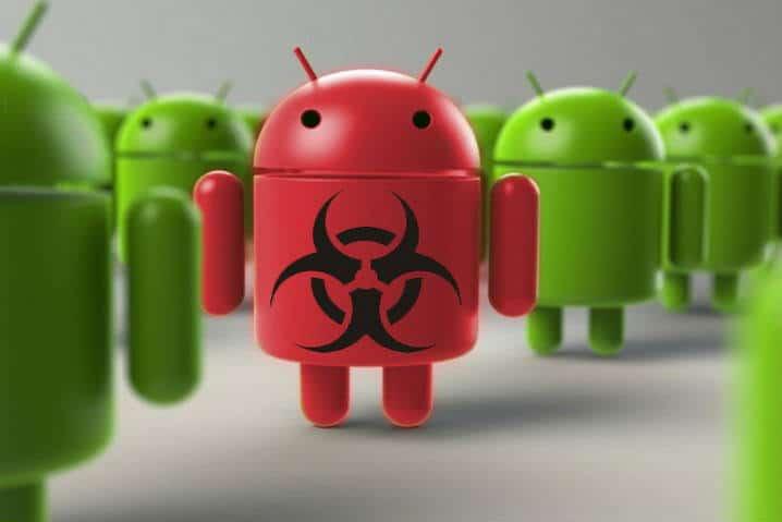menghilangkan malware di hp