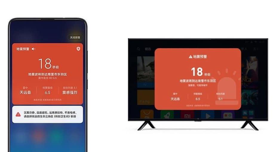 Xiaomi peringatan dini gempa