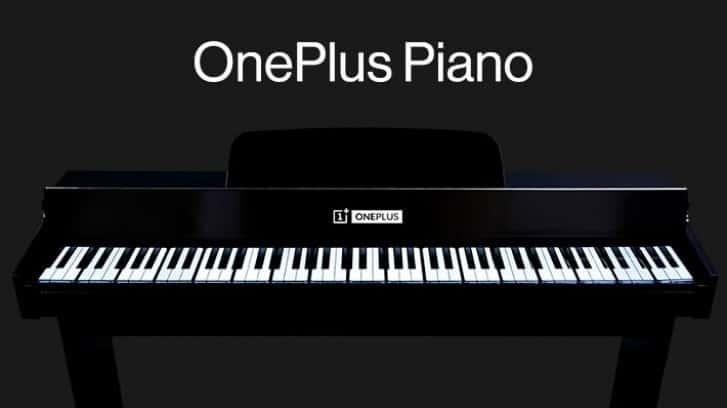 Wow! Piano Ini Dibuat dari 17 Unit OnePlus 7T Pro