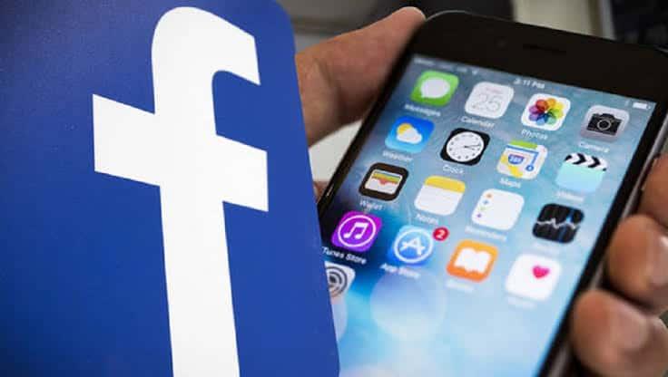 pengguna iPhone aplikasi Facebook
