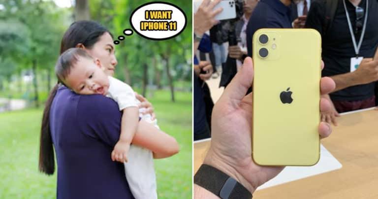 Edan! Perempuan Ini Jual Keponakan Demi iPhone 11