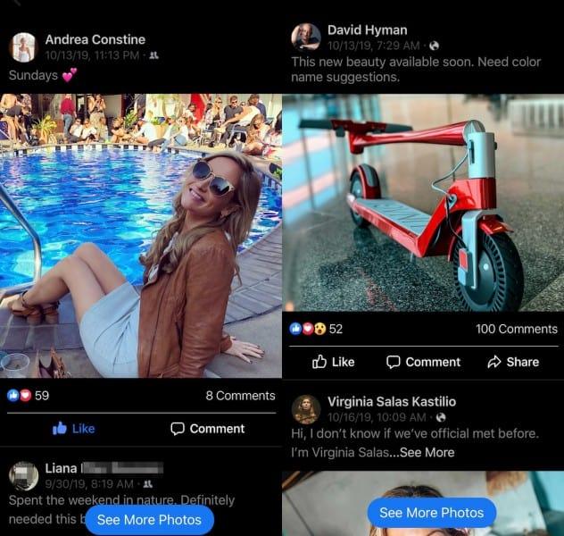 Facebook Popular Photos