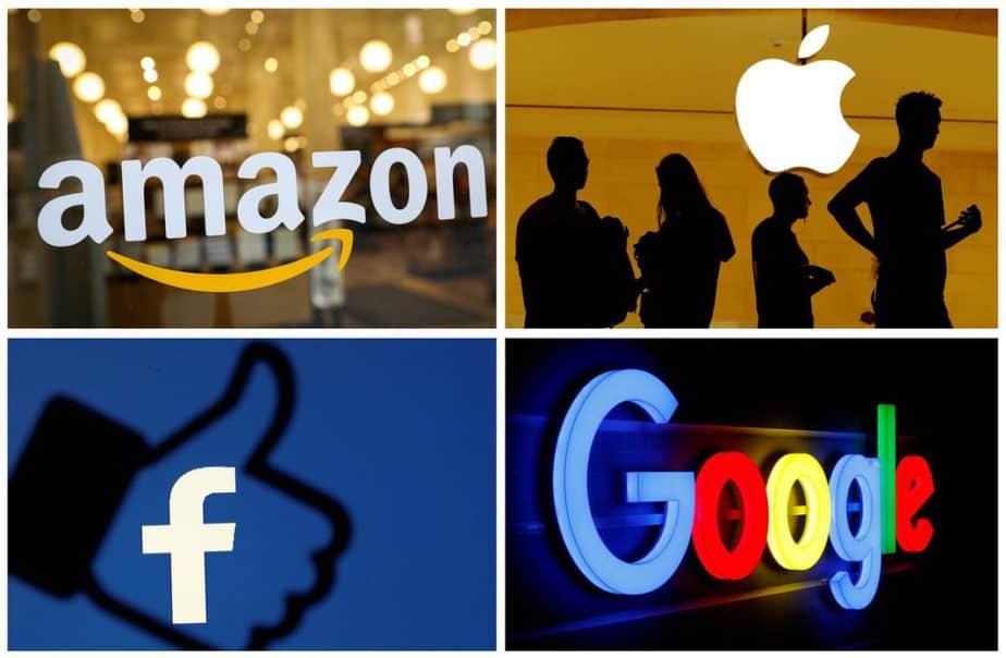 Google, Facebook, Amazon, Apple monopoli