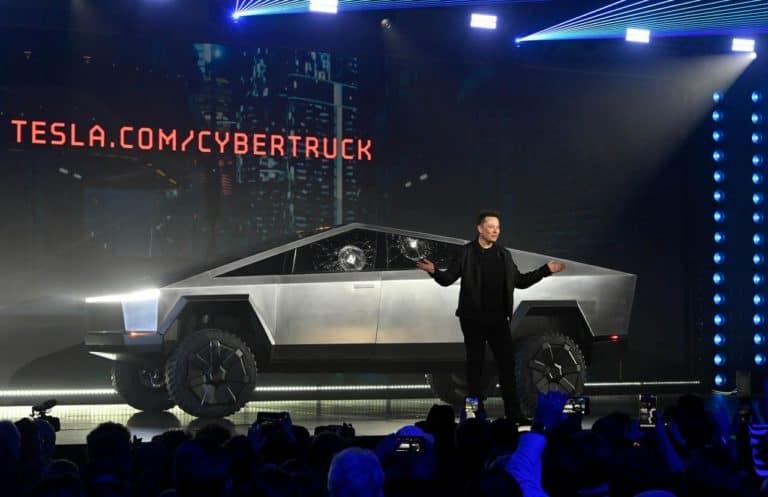 Cuitan Musk Soal Cybertruck Dongkrak Saham Tesla