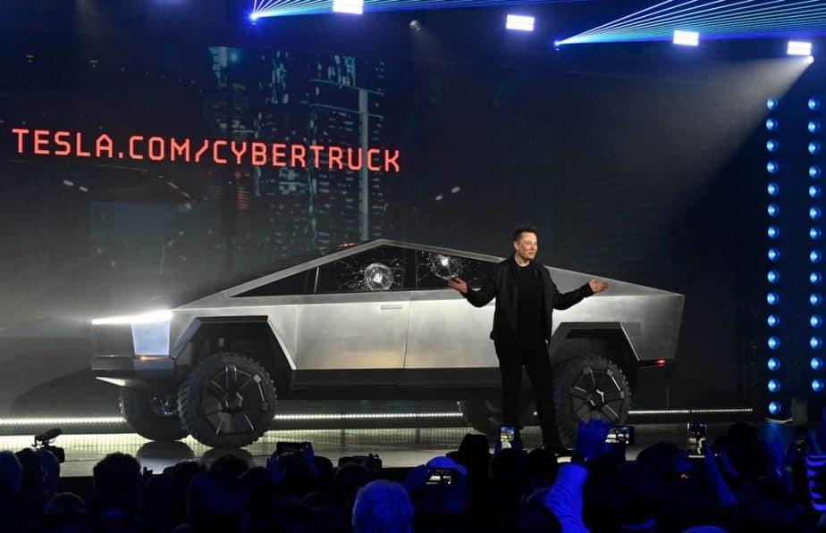 Saham Tesla Cybertruck