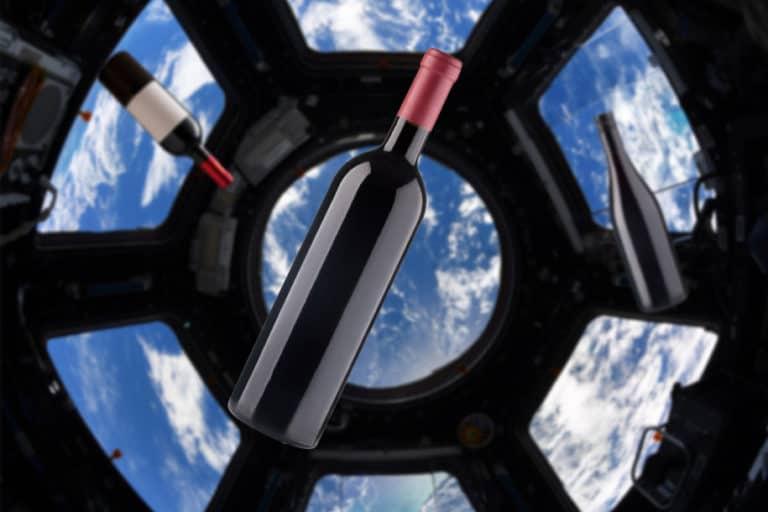 Anggur Prancis Dikirim ke Luar Angkasa, Astronot Mau Mabuk?