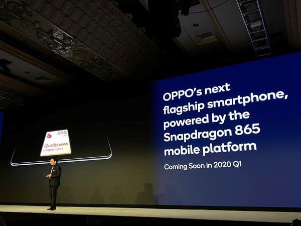 Oppo Pamer Smartphone 5G dengan Snapdragon 865