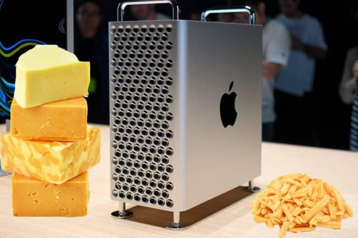 Mac Pro 2019 parutan keju