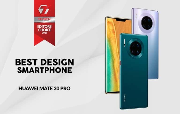 Telset Editor's Choice 2019: Best Design Smartphone