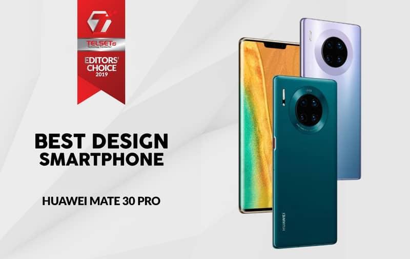 Best Design Smartphone Huawei Mate 30 Pro