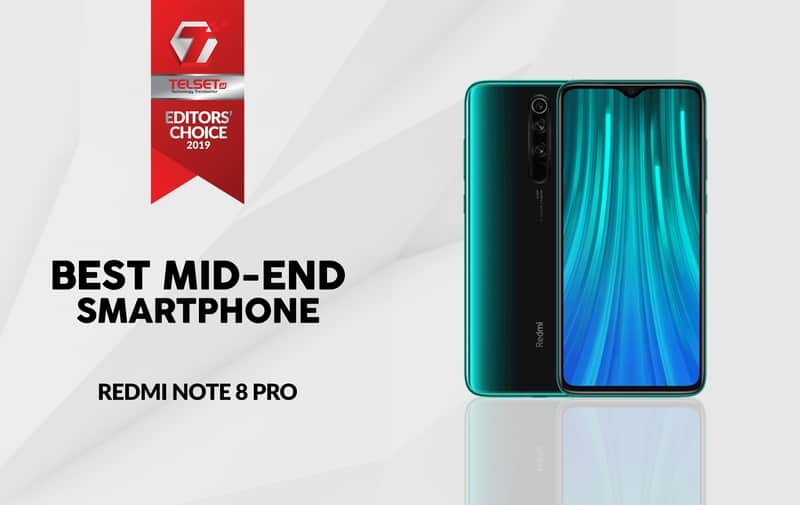 Best Mid-End Smartphone Redmi Note 8 Pro