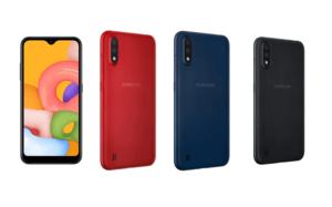 Samsung Galaxy A01 Smartphone 1 jutaan terbaru 2020