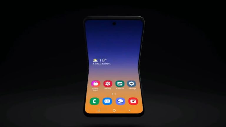 Lebih Sederhana, Samsung Galaxy Fold 2 Mirip Motorola Razer?