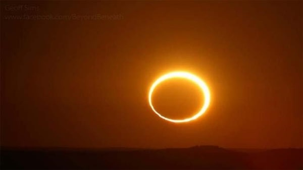 Fenomena Gerhana Matahari Cincin jadi Trending di Twitter