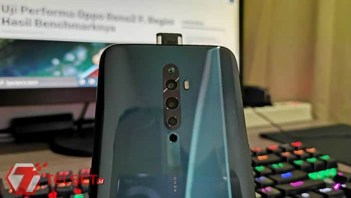Tips Aktifkan Lampu RGB Kamera Pop-up Oppo Reno2 F