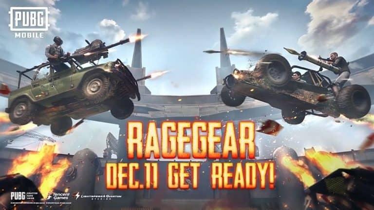 Mode Rage Gear Akhirnya Tiba di PUBG Mobile