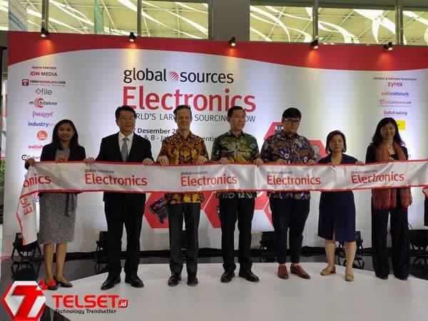 Global Sources Gelar Pameran Elektronik Terbesar di Indonesia