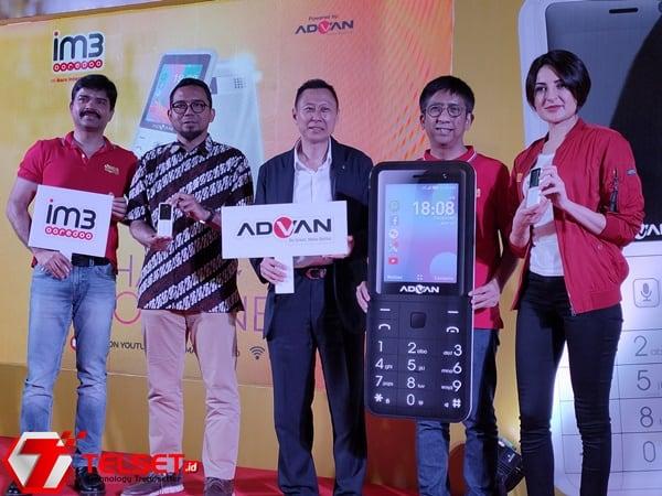 """IM3 Ooredoo Luncurkan Feature Phone 4G """"Hape Online"""""""