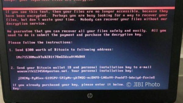 contoh kasus malware petya