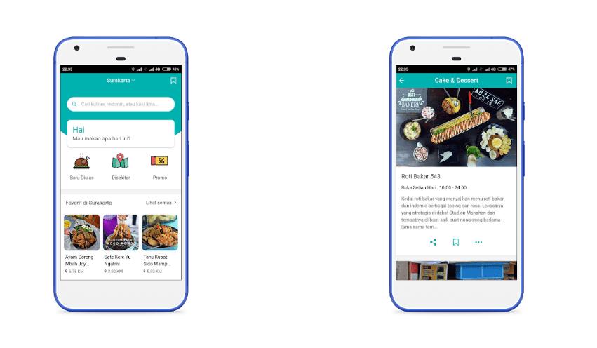 Cari tempat makan asyik aplikasi Mangan