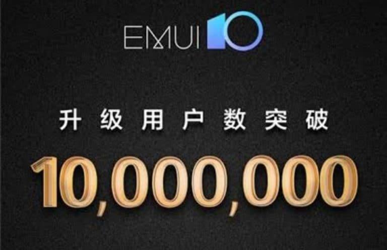 Wih, EMUI 10 Sudah Digunakan 10 Juta Smartphone di Dunia
