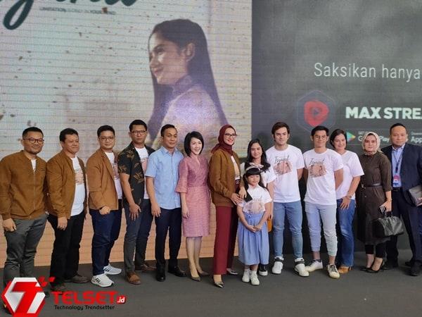 Kisah Perjuangan Stafsus Jokowi Tayang di MAXstream Telkomsel