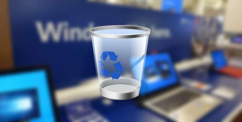 Bersihkan File Sampah Secara Otomatis di Recycle Bin Tong sampah