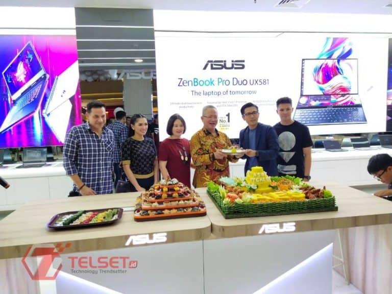 Asus Exclusive Store Taman Anggrek Makin Luas dan Lengkap