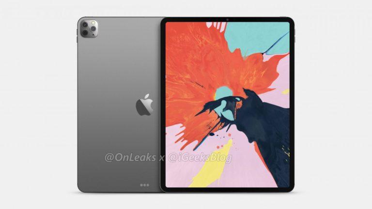 Siap-siap! iPad Pro 2020 Bakal Punya Tiga kamera Belakang