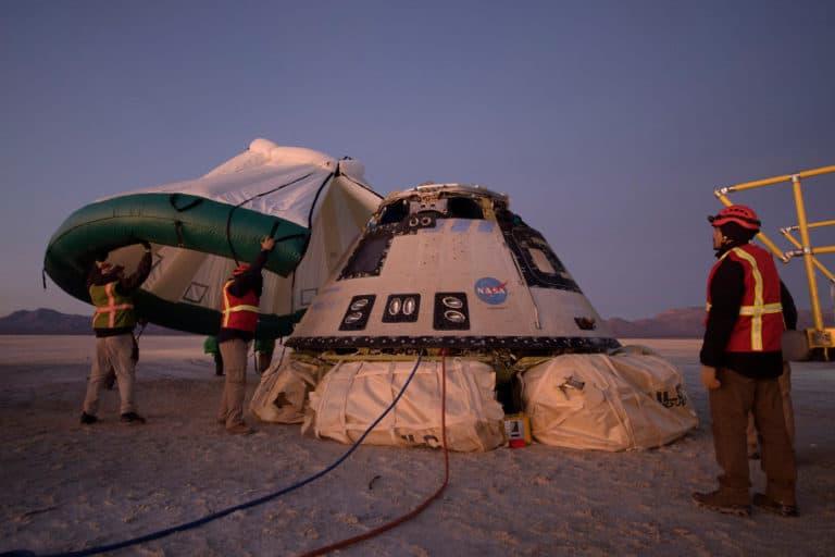 Misi Luar Angkasa Batal, Kapsul Boeing Kembali ke Bumi