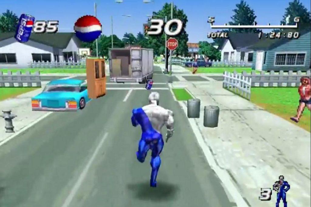 Game PS1 terbaik Pepsiman