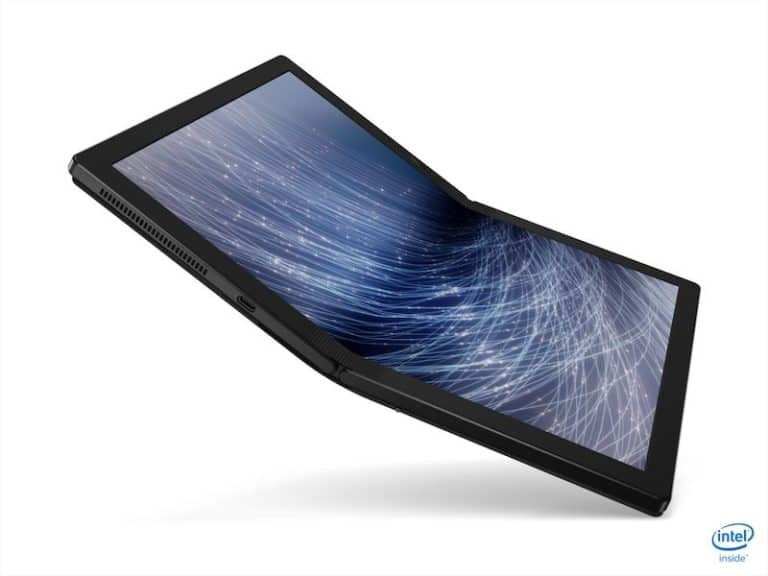 "Lenovo Pamer Laptop Layar Lipat ""ThinkPad X1 Fold"""