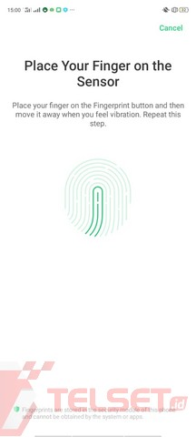 Tips Fingerprint cepat