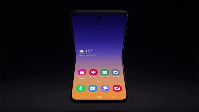 """Bukan Fold 2, Smartphone Lipat Samsung Bernama """"Galaxy Bloom"""""""