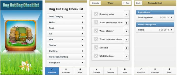 aplikasi naik gunung Bug Out Bag Survival Guide