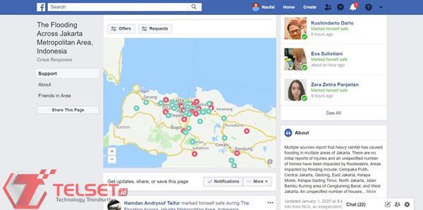 Banjir Facebook