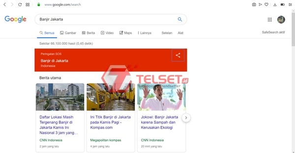 Google Banjir