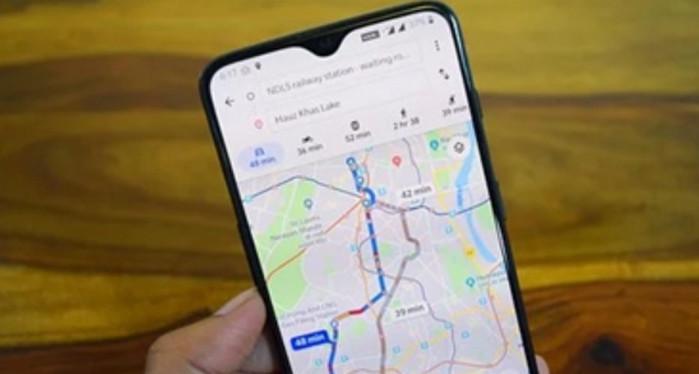 aplikasi untuk naik gunung Google Maps