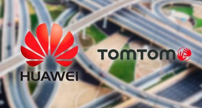 Huawei Gandeng TomTom Bikin Aplikasi Peta Sendiri