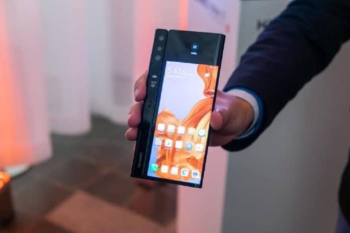 Ponsel lipat Samsung