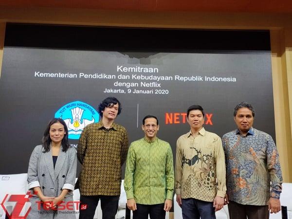 Kemendikbud dan Netflix Kirim 15 Penulis Indonesia ke Hollywood