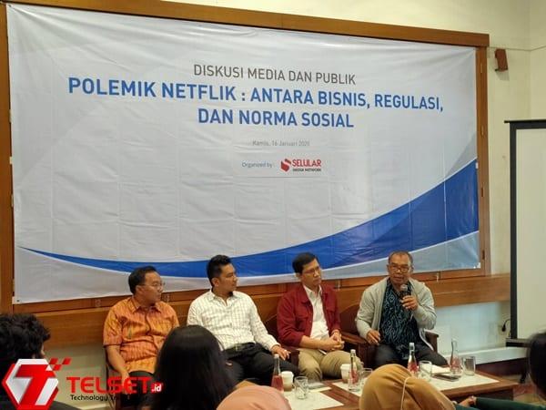 YLKI: Posisi Konsumen Lemah pada Polemik Pemblokiran Netflix