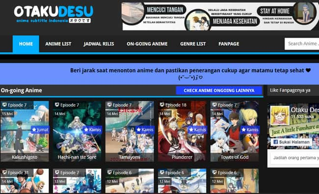 situs anime online Otakudesu
