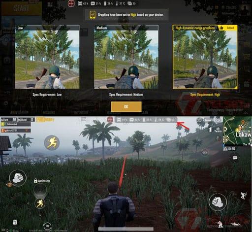 PUBG Mobile review ROG Phone II