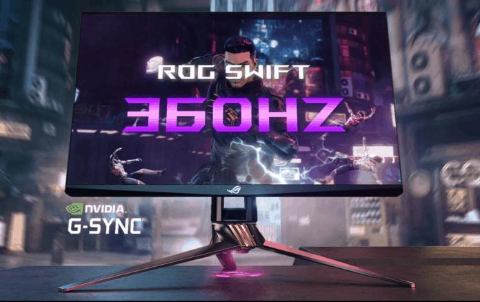 Monitor 360Hz ASUS ROG Swift