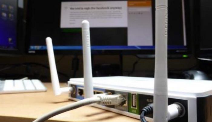 Posisi Router di Ruang Tertutup
