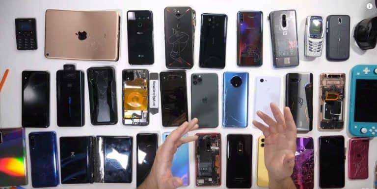 HP Xiaomi Ini jadi Smartphone Paling Rapuh 2019