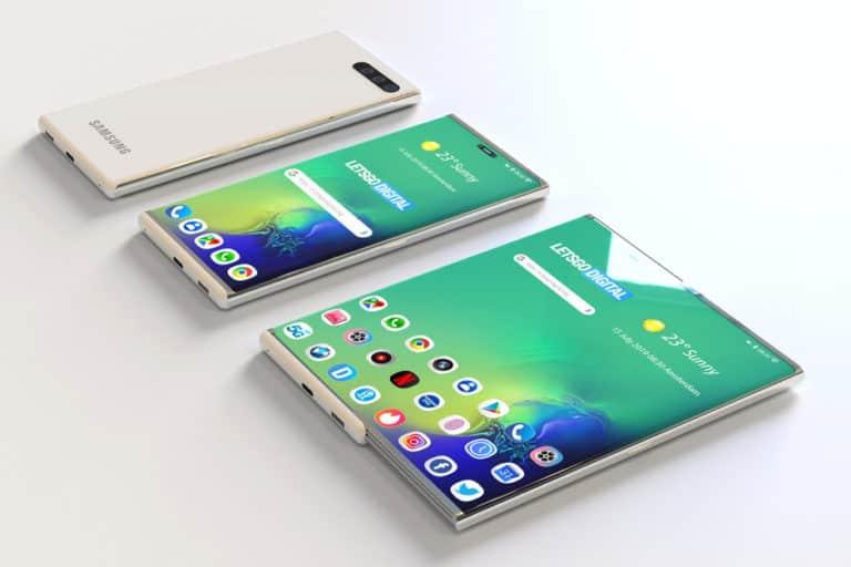 Penuh Rahasia, Samsung Siapkan Smartphone Layar Geser?