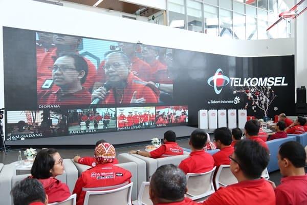Trafik Data Telkomsel Naik 16% Saat Libur Nataru 2020