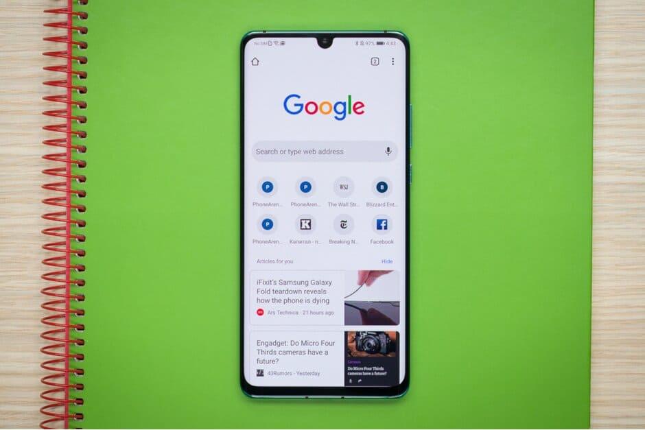 Chrome untuk Android